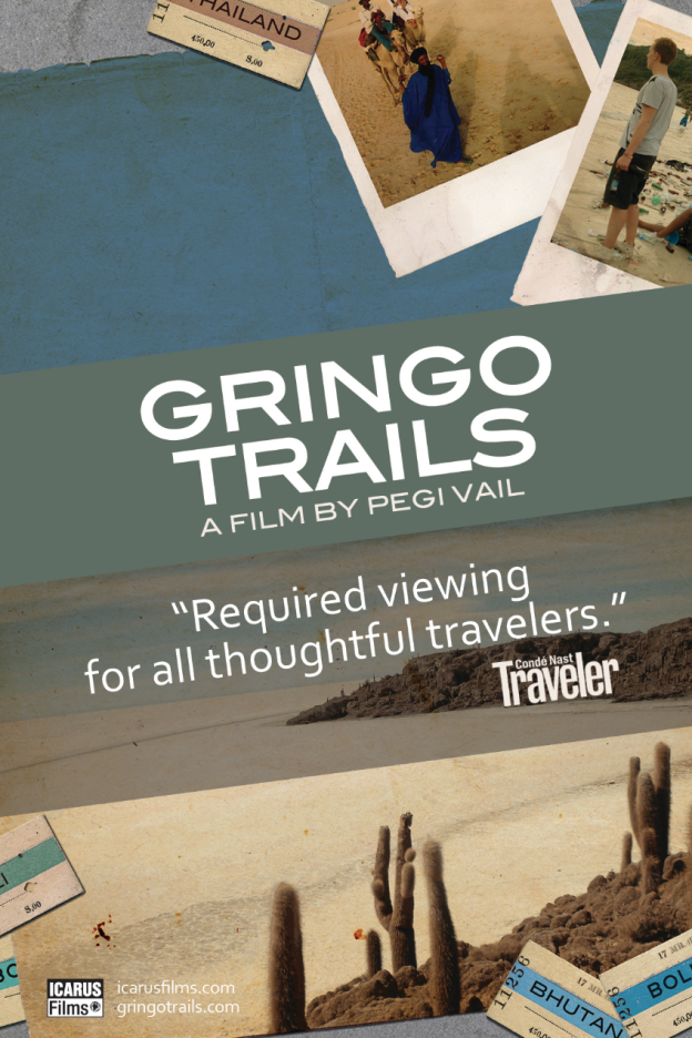 Gringo Trails poster card